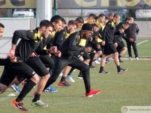 Ботев започна лагера в Анталия с 25 футболисти