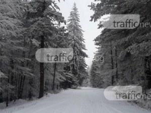 Ограничения по пътищата в Смолянско заради новия снеговалеж