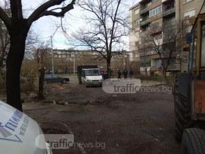 Правят паркинги за 140 коли в голям пловдивски квартал ВИДЕО и СНИМКИ