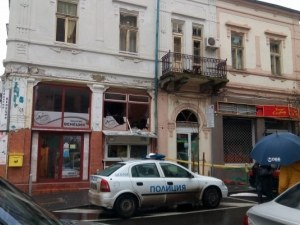 Взривиха златарско ателие в центъра на Бургас СНИМКИ