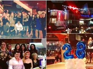 """Звездите на """"Пайнер"""" се събраха на пищен купон за 28-мия рожден ден на фирмата ГАЛЕРИЯ"""