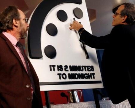Остават 2 минути до апокалипсиса според Часовника на Страшния съд