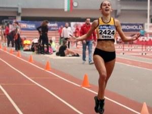 Лили Георгиева с две титли от държавното по лека атлетика