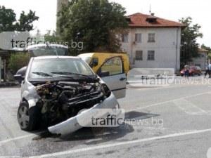 Кьоркютук пиян се заби в ограда край Пловдив, друг пък предизвика катастрофа в Смирненски