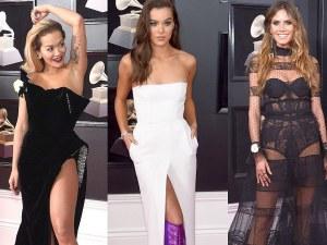Най-одумваните звездни рокли на наградите Грами СНИМКИ