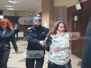 Донка, която удуши старица край Пловдив, ще лежи 29 години в затвора