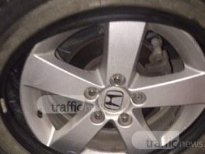 Пет коли в Кършияка осъмнаха със спукани гуми
