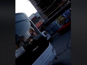 Автобус № 37 се заби в насрещното, удари автомобил ВИДЕО