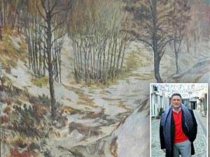Непозната картина на Цанко Лавренов раздели колекционерите в Пловдив