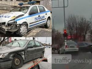 Ексклузивни кадри запечатаха мелето с патрулка в Пловдив ВИДЕО