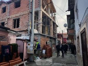"""Бутат къщата с """"вградено"""" улично осветление в Арман махала СНИМКИ+ВИДЕО"""