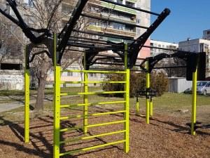 Пловдивчани се радват на два нови фитнеса на открито