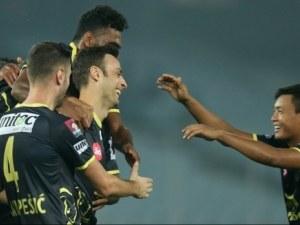 Бербо се отпуши - вижте какъв красив гол вкара за Керала ВИДЕО