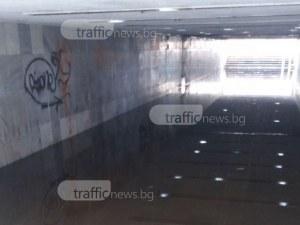 Два дни дъжд в Пловдив и на пловдивчани вече им трябват плавници СНИМКИ