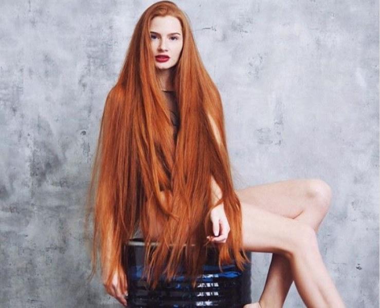 Руската Рапунцел разкри тайната за дълга и блестяща коса