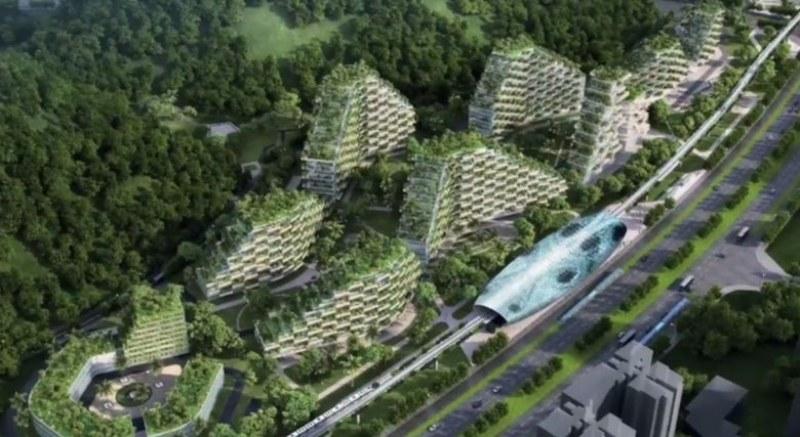 Започват да строят град-гора - за първи път в света ВИДЕО