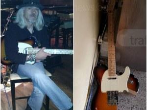 Строшена китара пред апартамента на мъртвите Антон и Нина СНИМКИ+ВИДЕО