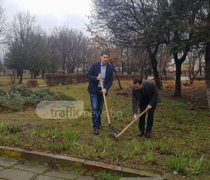 Иван Тотев даде старт на мащабен ремонт на Професионалната гимназия по хранителни технологии ВИДЕО+СНИМКИ