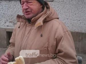 Бездомник, бивш финансов ревизор, си търси работа! Не го съжалявайте, а помогнете! СНИМКИ