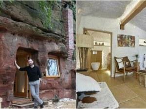 Как сръчен мъж превърна средновековна пещера в луксозен апартамент? СНИМКИ