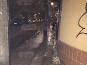 Неадекватен мъж стресна пловдивчани в късните часове в Кючука СНИМКА