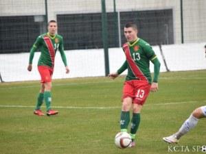 Талант на Локо с отличен мач за националния отбор