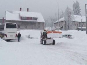 Студ и сняг сковаха Балканите, живакът падна до минус 15 градуса
