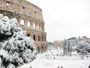 100 българи блокирани в Рим от лошото време