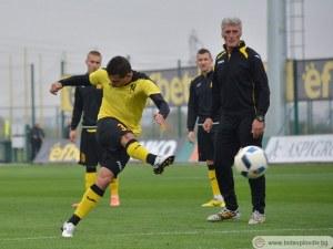 Жоао Паоло прави повторен дебют за Ботев в дербито с Локо