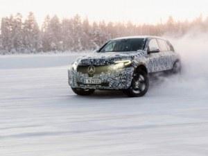 Mercedes показа за първи път напълно електрическия си SUV