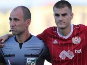 Защитник на ЦСКА отнесе 2 мача наказание заради шамари