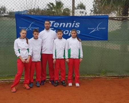 Близнаци от Пловдив с победи на Източноевропейското по тенис