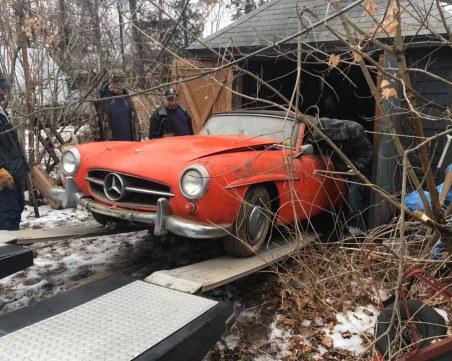 Откриха истинско съкровище във вехт гараж СНИМКИ