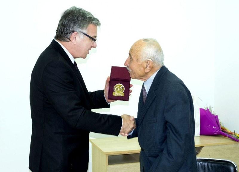 Пловдивски професор отбеляза 100-годишен юбилей СНИМКИ