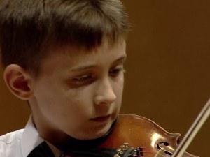 """13-годишен пловдивски цигулар спечели стипендията """"Мидори"""" на Общество Нота Бене"""