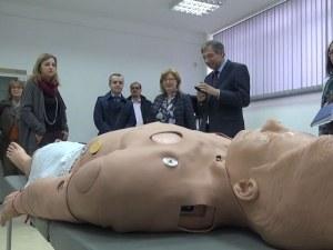 Евроделегати посетиха Технологичния център за спешна медицина в Пловдив ВИДЕО
