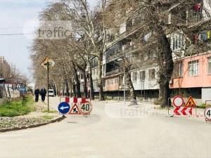"""Булевард """"Стамболийски"""" отново е разкопан, задръстване по обходния маршрут СНИМКИ"""
