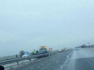 Катастрофа на магистрала Тракия край Пловдив