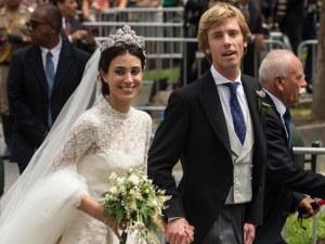 """Кралска сватба: Принц Кристиан и красивата Алесандра си казаха """"да"""" в Перу СНИМКИ"""