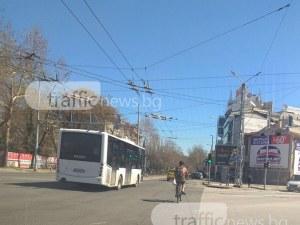 Сутрин сняг в Пловдив, следобед голи до кръста по улиците СНИМКИ