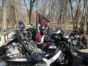 Лошото време не може да спре рокерите, стотици мотори превземат Пловдив