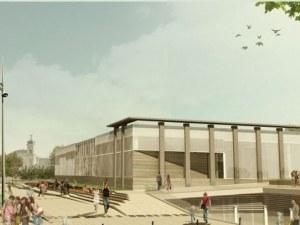 Започват новия площад на Пловдив за 8 млн. - изграждат фонтани, зелени площи и детски площадки СНИМКИ