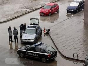 Зрелищна гонка в Кючука! Полицаи преследват беглец, правят му блокада СНИМКИ и ВИДЕО