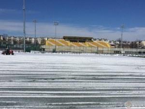Снегът провали контролата Ботев - Марица