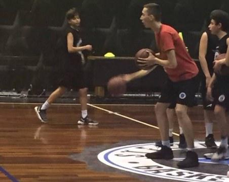 Поканиха пловдивски талант на силен баскетболен турнир в Италия СНИМКИ