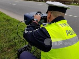 Неизвестен задигна полицейска камера на пътя и избяга с нея! Дали го е снимала?