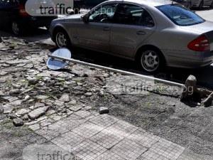 Пловдивчанин: Нарушителите побеждават и ликуват като чупят знаците в Пловдив СНИМКИ