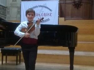 10 -годишен пловдивски цигулар е победител в конкурса Grumiaux в Белгия