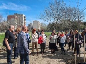 Магистрати от Апелативен съд – Пловдив засадиха алея с чинари