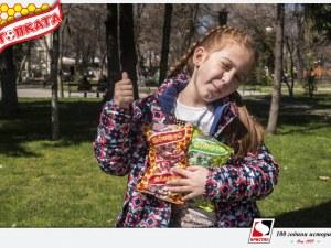 Бонбони Топката – не се ритат, а се смучат! И то с удоволствие! СНИМКИ